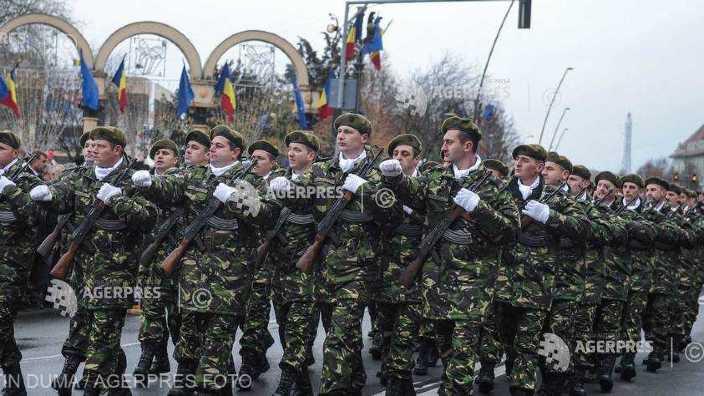 1.600 de militari, 150 de mijloace tehnice, 23 de aeronave şi 21 de salve de tun, la ceremonia din 1 Decembrie de la Alba Iulia