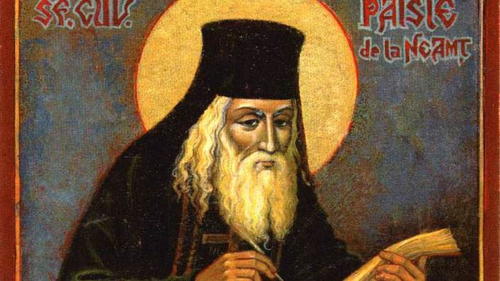 Pomenirea sfântului Paisie Velicicovshi de la Neamț - redescoperitorul și traducătorul Filocaliei