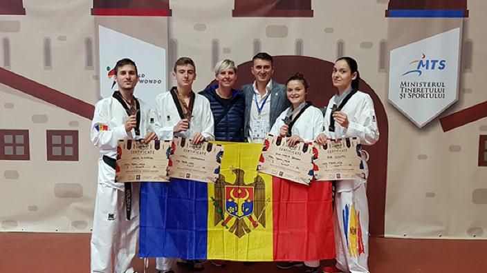 R.Moldova a cucerit șapte medalii la Dracula Open G-1