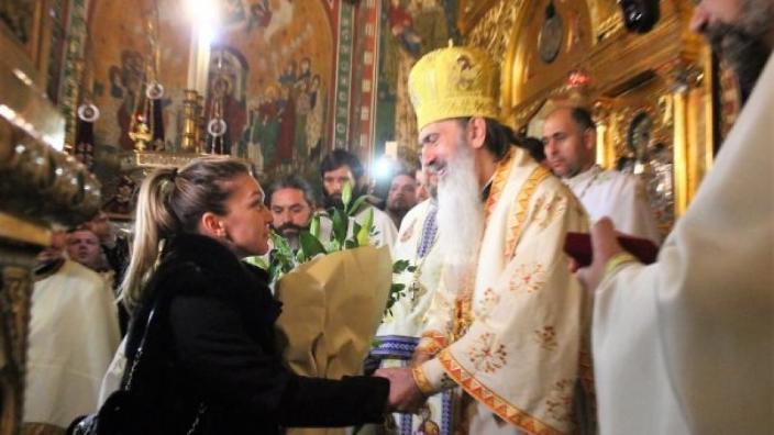 Simona Halep a primit distincţia eparhială pentru mireni