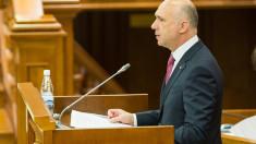 Parlamentului se întrunește în ultima sa ședință, la care premierul Pavel Filip va prezenta raportul de activitate