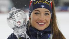 Biatlonista italiancă Dorothea Wierer a câştigat sprintul de la Hochfilzen