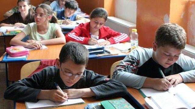 Elevi din patru școli învăță limba germană, predată într-un mod interactiv