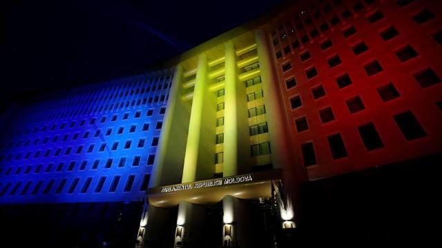 Instituții de cultură și de stat din Chișinău vor fi iluminate în această seară în tricolor, de Centenarul Marii Uniri