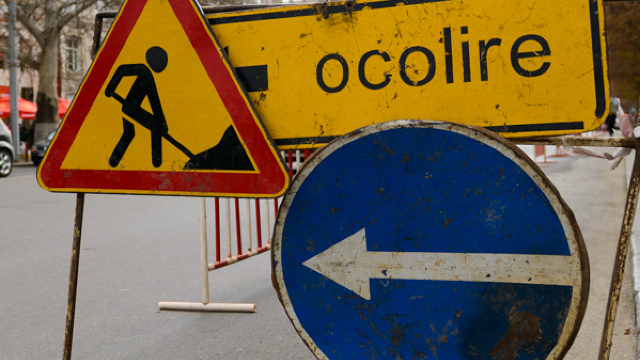 Traficul rutier pe o stradă din centrul Capitalei va fi suspendat. Cum va circula transportul public