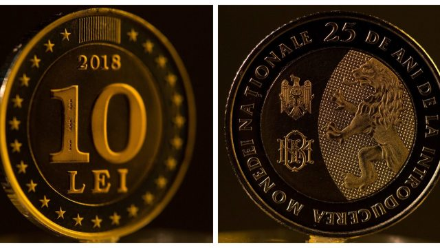 Moneda comemorativă de 10 lei este disponibilă doar câteva zile pentru publicul larg, la ghișeul BNM