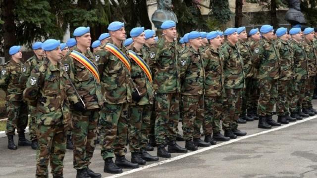 Un nou contingent de militari participă la operațiunile de menținere a păcii KFOR din Kosovo