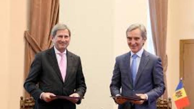 Vicepremierul Iurie Leancă i-a vorbit Înaltul Comisar al UE, Johannes Hahn, despre aspiraţiile europene ale Moldovei