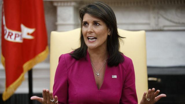 Ambasadoare americană la ONU cere Consiliului de Securitate o