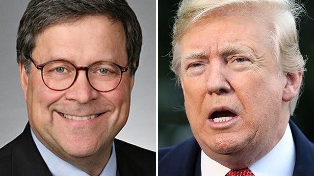 Donald Trump l-a desemnat pe William Barr pentru postul de procuror general