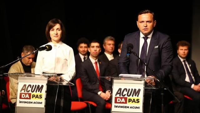 Lista celor 55 de candidați ai Blocul ACUM prezentată la CEC