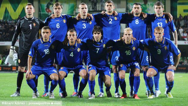 Naționala Moldovei încheie anul pe locul 170 în clasamentul FIFA