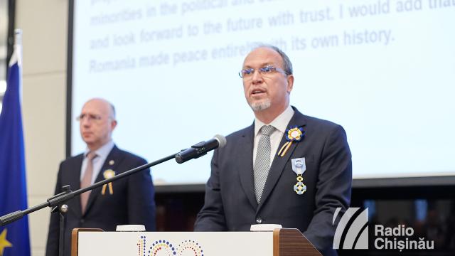 FOTO | Recepție la Ambasada României. Relația dintre România și R.Moldova este confirmată prin proiecte concrete, afirmă Pavel Filip