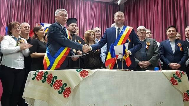O nouă înfrățire între localitățile din R.Moldova și România