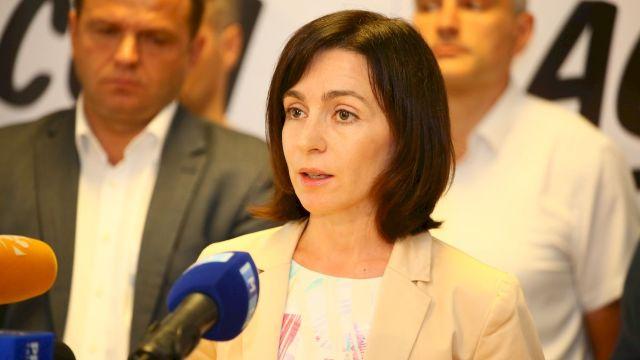 Maia Sandu, înregistrată în calitate de candidat la funcția de deputat