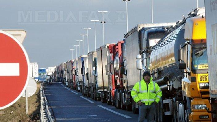 La vămile din R.Moldova va fi introdus un sistem automatizat de programare a traversării frontierei pentru camioane