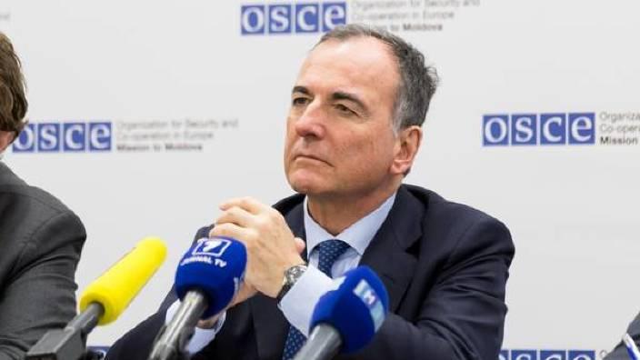 Reprezentantul special al OSCE, Franco Frattini, neagă rolul de participant al Rusiei în conflictul din Transnistria