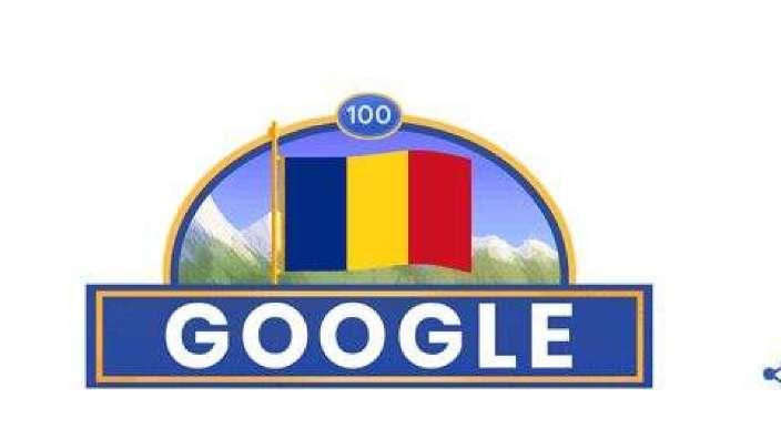 Google marchează Centenarul Marii Uniri printr-un Doodle special
