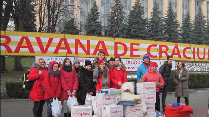 Caravana de Crăciun va ajunge în acest an la trei mii de copiidin Republica Moldova