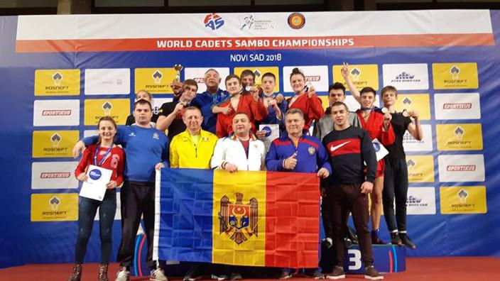 Aur pentru Republica Moldova la Campionatul Mondial de SAMBO printre cadeți
