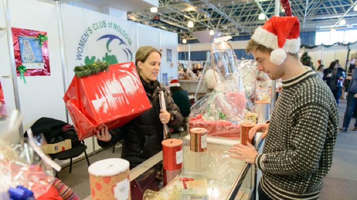 Târgul Internațional de Caritate, cu ocazia sărbătorilor de Crăciun, se desfășoară duminică în Chișinău