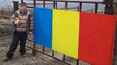 EXCLUSIV | Nicolae Crudu va pune tricolorul Românei și pe fântână, ca să se vadă nu doar de la Durlești, dar și de la Chișinău (INTERVIU)