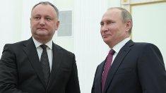Igor Dodon va merge la Moscova săptămâna viitoare pentru a se întâlni cu Vladimir Putin