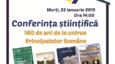 "Conferința ""160 de ani de la unirea Principatelor Române"", la Chișinău"