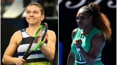 Începând cu ora 10, Simona Halep şi Serena Williams va juca în optimi la Australian Open