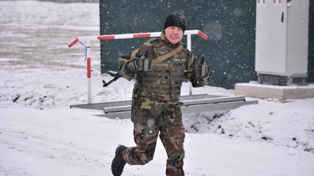Un militar moldovean a obţinut locul III la Dancon March, într-o competiție cu 600 de militari din 28 de ţări (foto)