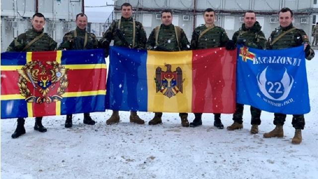FOTO | Un militar moldovean din KFOR a obţinut locul III la DANCON March