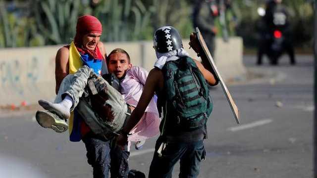 Cel puţin 43 de morţi în urma protestelor şi violenţelor din Venezuela
