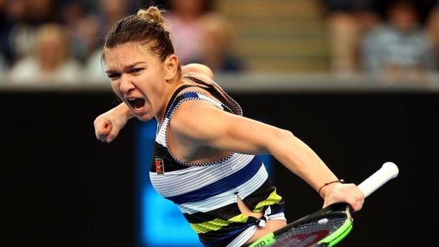 VIDEO   Calificare fără probleme pentru Simona Halep la Australian Open. Bucuria româncei după victoria cu Venus Williams