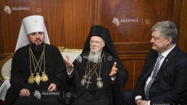 Patriarhului Constantinopolului a semnat tomosul de acordare a autocefaliei Bisericii Ortodoxe Ucrainene