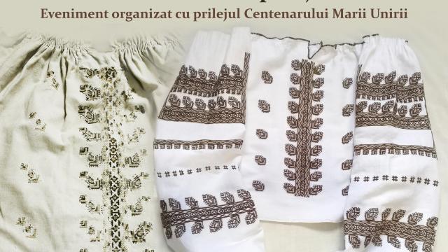 100 de cămăși basarabene salvate de la dispariție, în contextul Centenarului Marii Uniri