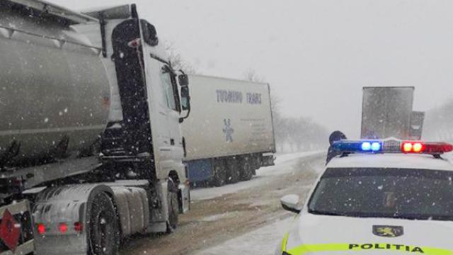 Restricții de circulație rutieră pe traseul Chișinău-Leușeni și în Postul vamal Sculeni