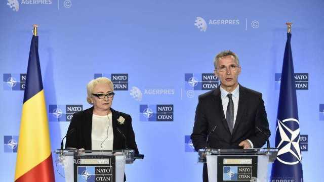 Secretarul general al NATO | Contribuţiile României la NATO fac Alianţa să fie mai puternică şi mai sigură