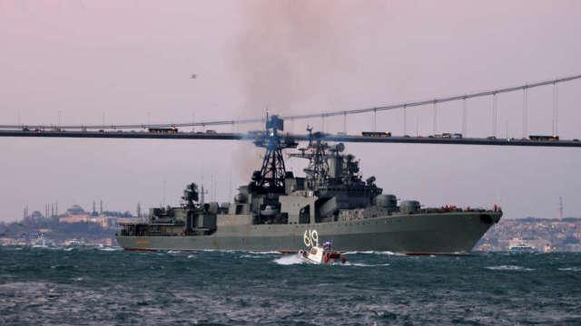 Pentru prima oară de la anexarea Crimeii în 2014, Rusia a trimis în Marea Neagră o navă de război