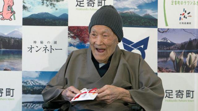 Cel mai bătrân bărbat din lume a murit din cauze naturale în Japonia
