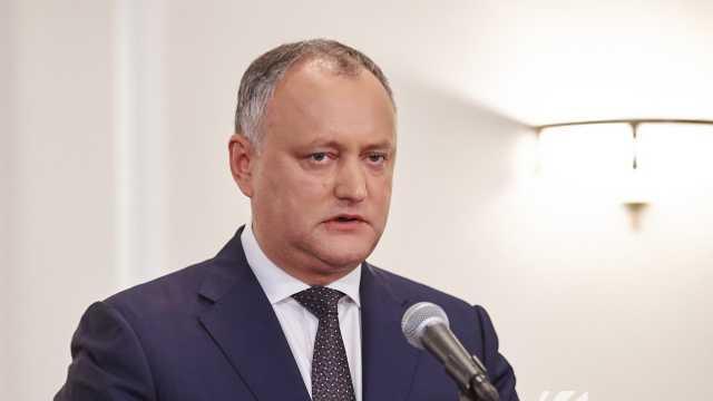 Replica lui Igor Dodon referitor la acuzațiile lui Vladimir Voronin privind reparația sediului Președinției