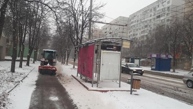 Informațiile prezentate de către Primăria Chișinău referitor la circulația transportului public și deszăpezirea