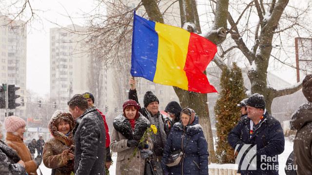 FOTO   Unirea Principatelor Române, marcată la Chișinău