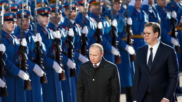 Vladimir Putin, vizat de un complot terorist în timpul vizitei oficiale în Serbia