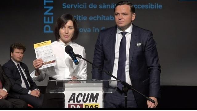 """Ion Iovcev, Valeriu Munteanu sau Octavian Țâcu, printre candidații blocului """"ACUM"""" în circumscripțiile uninominale. Unde va concura Maia Sandu"""