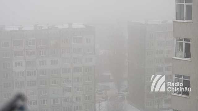Codul galben de ceață a fost extins