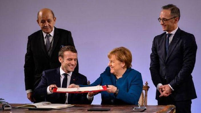 A fost semnat noul tratat de prietenie dintre Germania și Franța. Angela Merkel: Este necesar în faţa