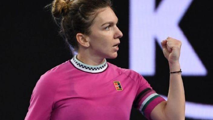 Tenis   Simona Halep, calificare cu emoţii în turul al treilea la Australian Open