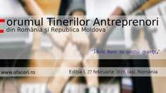 Tinerii antreprenori de pe ambele maluri ale Prutului se întrunesc la Iași în vederea realizării unor proiecte transfrontaliere