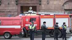 FOTO/VIDEO | Mai multe etaje ale clădirii unei universități din Sankt Petersburg s-au prăbușit