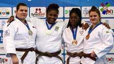 O medialie de aur și una de argint la Cupa Europei la judo printre cadeți, pentru două sportive din R.Moldova